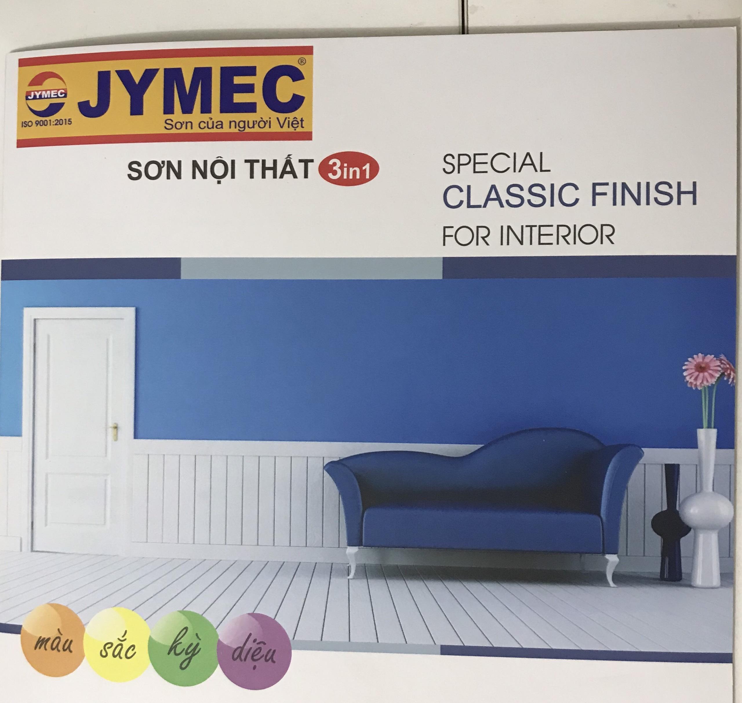 Bảng màu sơn Jymec nội thất 3in1