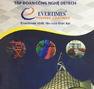 Bảng màu sơn tĩnh điện Evertime - Thời đại mới