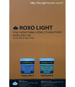 Bảng màu sơn chống thấm màu ROXO