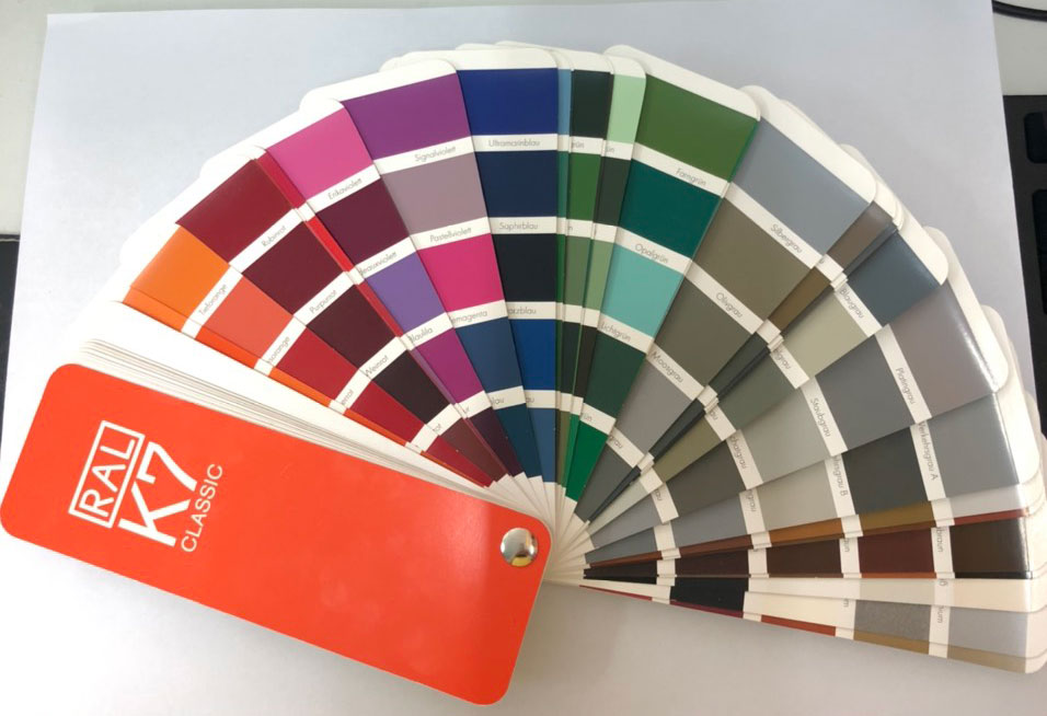 Bảng màu sơn công nghiệp Durgo