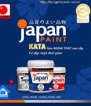 Bảng màu sơn Japan Kata