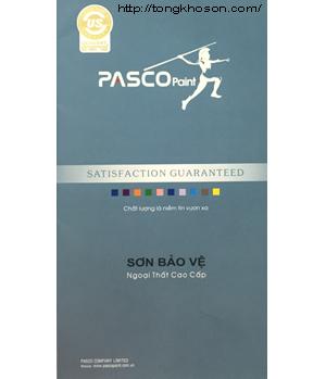 Bảng màu sơn Pasco ngại thất