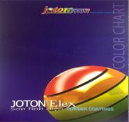 Bảng màu sơn tĩnh điện Joton Elex
