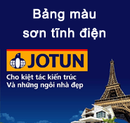 Bảng màu sơn tĩnh điện Jotun