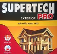 Bảng màu sơn Toa SuperTech Pro ngoại thất