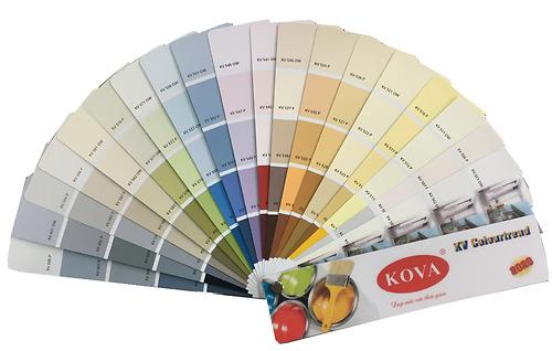 Quạt màu Kova KV Colourtrend 2020