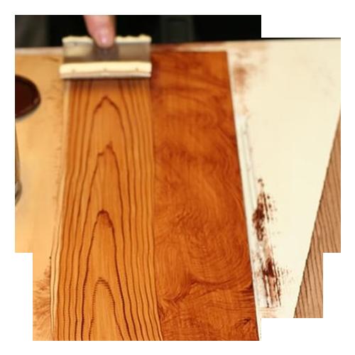 Sơn giả gỗ cho tường và bê tông