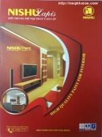 Bảng màu sơn Nishu Lapis nội thất