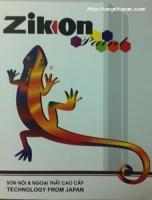 Bảng màu sơn Zikon nội và ngoại thất