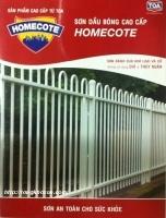 Bảng màu sơn dầu Toa Homecote