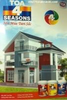 Bảng màu sơn Toa Seasons4