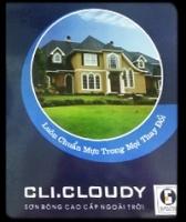 Bảng màu sơn Clima Cloudy ngoài trời siêu bóng