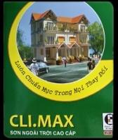 Bảng màu sơn Clima Max ngoài trời
