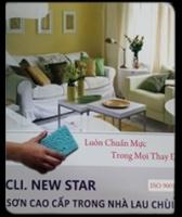 Bảng màu sơn Clima New Star lau chùi trong nhà