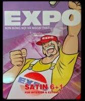 Bảng màu sơn Expo Satin 6 + 1