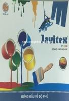 Bảng màu sơn Javitex nội thất