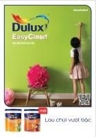 Bảng màu sơn Dulux Easy Clean lau chùi hiệu quả