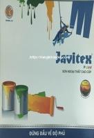Bảng màu sơn Javitex ngoại thất