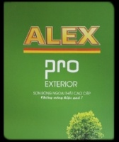 Bảng màu sơn Alex Pro ngoại thất