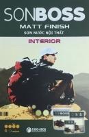 Bảng màu sơn Boss Matt Finish nội thất