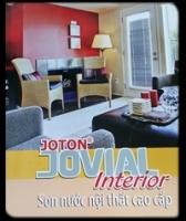 Bảng màu sơn Jovial nội thất lau chùi hiệu quả