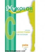 Bảng màu sơn Mykolor classic nội thất