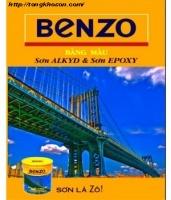 Bảng màu sơn Benzo Alkyd và Epoxy
