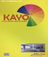Bảng màu sơn Dutex Kayo nội thất