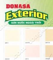 Bảng màu sơn Donasa ngoài trời láng mịn