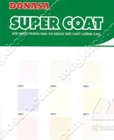 Bảng màu sơn Donasa Super Coat nội và ngoại thất
