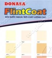 Bảng màu sơn Donasa Flint Coat ngoài trời