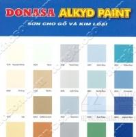Bảng màu sơn dầu Donasa