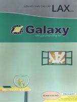Bảng màu sơn Galaxy Lax Matic nội thất