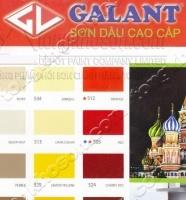 Bảng màu sơn dầu Galant