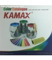 Bảng màu sơn Kamax nội và ngoại thất