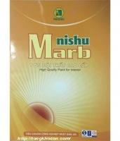 Bảng màu sơn Nishu Marb nội thất bóng mờ
