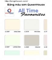 Bảng màu sơn QueenHouse
