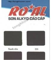 Bảng màu sơn dầu Royal Alkyd