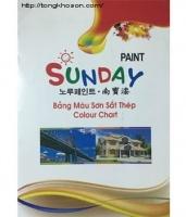 Bảng màu sơn dầu Sunday