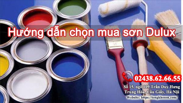 Hướng dẫn chọn mua sơn Dulux