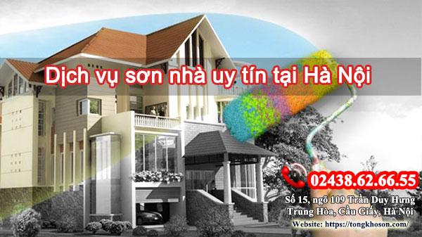 Dịch vụ sơn nhà uy tín tại Hà Nội