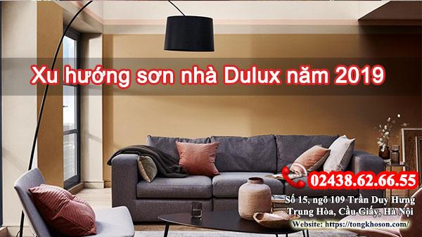 Xu hướng sơn nhà Dulux năm 2019