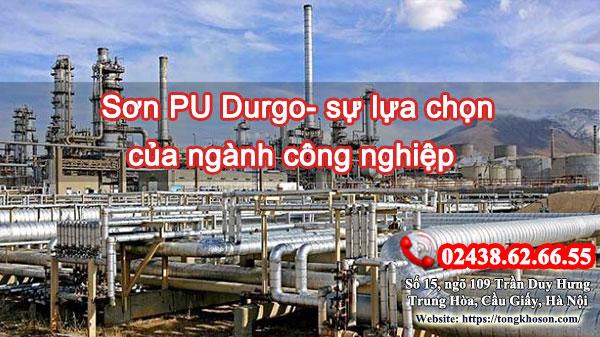 Sơn PU Durgo - sự lựa chọn của ngành công nghiệp