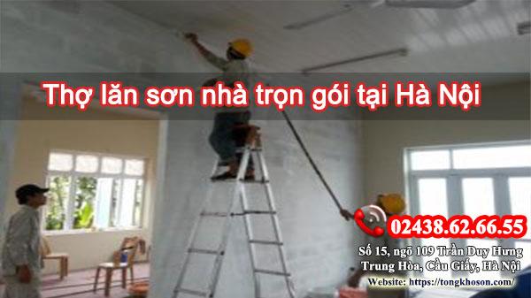 Thợ lăn sơn nhà trọn gói tại Hà Nội