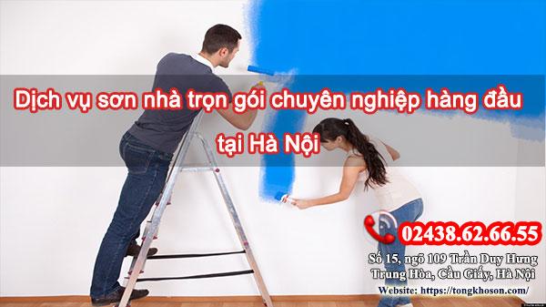 Dịch vụ sơn nhà trọn gói chuyên nghiệp hàng đầu tại Hà Nội