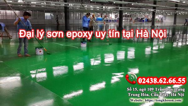 Đại lý sơn epoxy uy tín tại Hà Nội