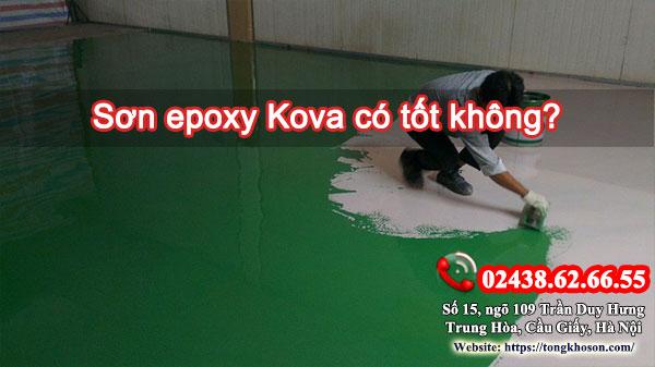 Sơn epoxy Kova có tốt không?
