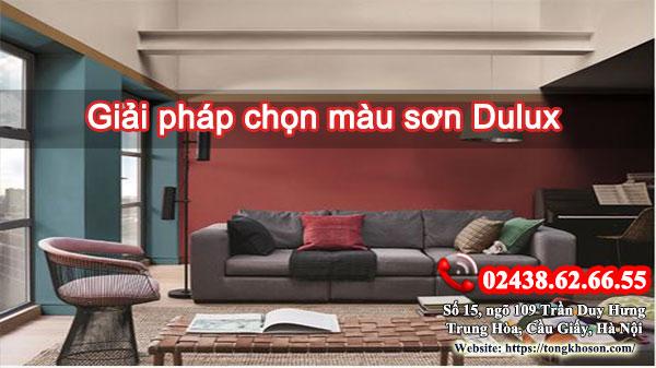 Giải pháp chọn màu sơn Dulux