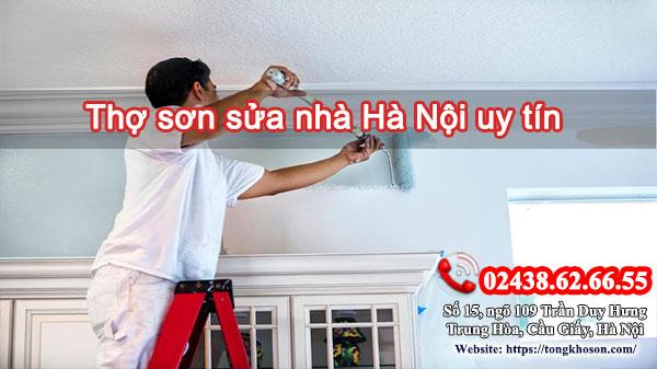 Thợ sơn sửa nhà Hà Nội uy tín