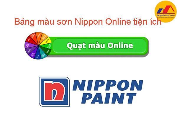 Bảng màu sơn Nippon Online tiện ích